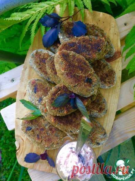 Котлеты из баклажанов с сыром - кулинарный рецепт