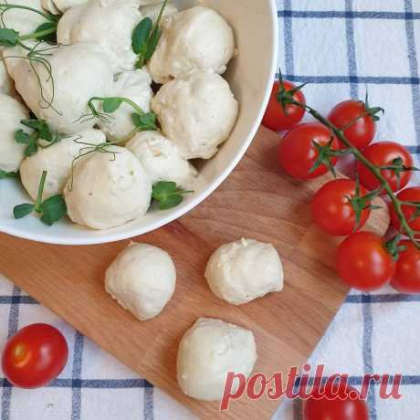 Веганская моцарелла | Vegetarian.ru
