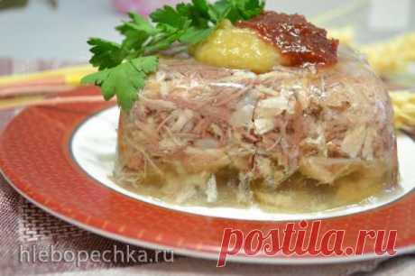 Холодец-студень сборный (что берем из мяса и воды, и скока будем вешать в граммах) - рецепт с фото на Хлебопечка.ру