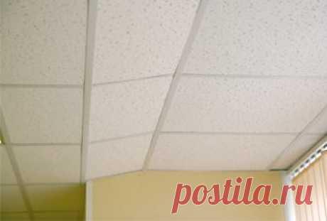 Как смонтировать подвесной потолок — Мой дом