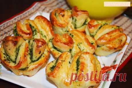 Ароматная вкуснятина с чесноком и зеленью за 25 минут: обожаю такие рецепты! Особенно оценили дети! | Таки Вкусно