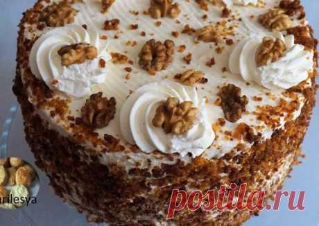 (9) Самый вкусный Морковный торт,лучше чем в Starbucks - пошаговый рецепт с фото. Автор рецепта Marilesya 🏃♂️ . - Cookpad