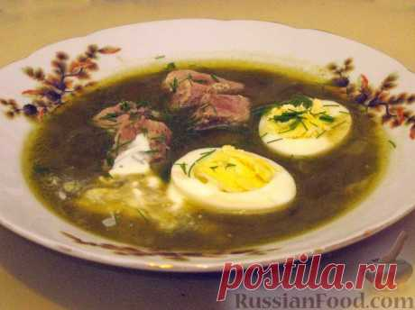50 рецептов щавелевого супа.