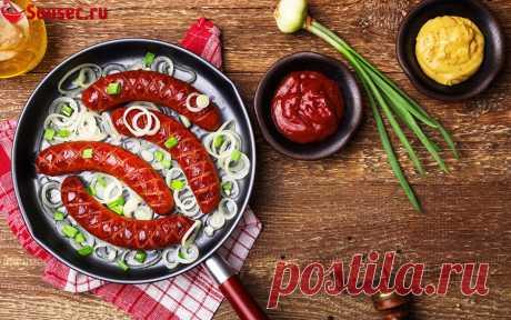 Рецепты приготовления соусов для колбасок