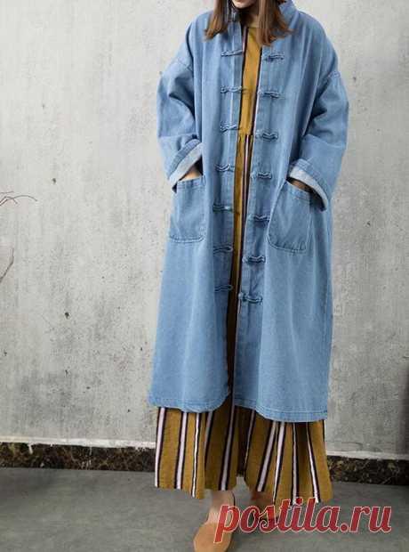 Women denim Dresses Light blue Dresses Loose Fitting top   Etsy