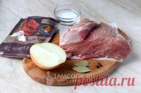 Свинина в банке в духовке — рецепт с фото пошагово