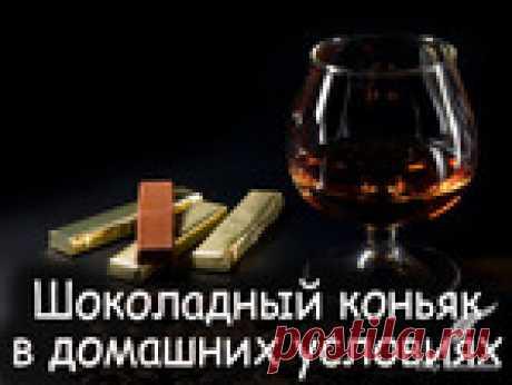 Шоколадный коньяк в домашних условиях и коньячный напиток