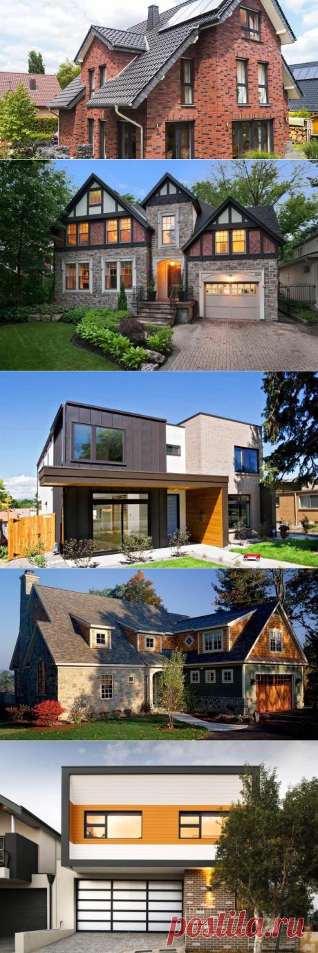Варианты отделки фасадов частных домов ⋆ DomaStroika.com