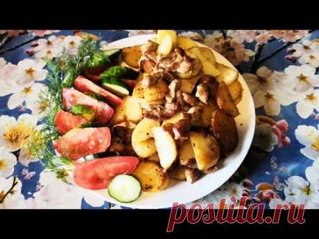 Рецепт Картошки по-деревенски - Быстро, просто и вкусно... 👌💖
