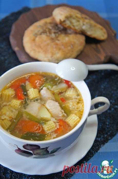 Куриный суп в китайском стиле – кулинарный рецепт