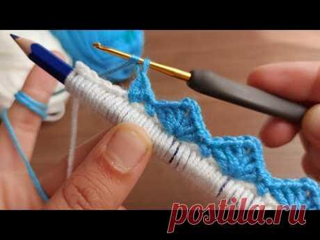 Super Easy Crochet Knitting - Tığ İşi Örgü Modeline Bayılacaksınız