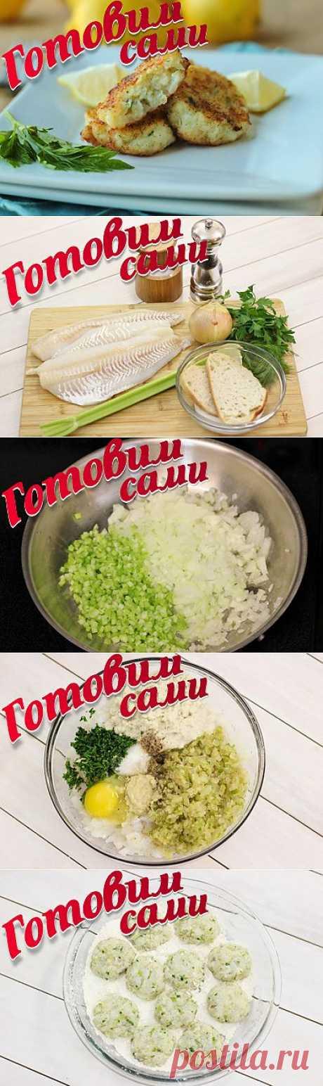 Рыбные котлеты | 4vkusa.ru