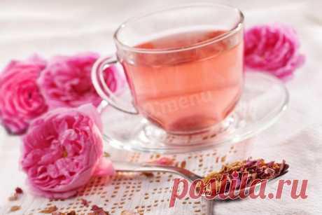 Чай из лепестков роз рецепт с фото - 1000.menu
