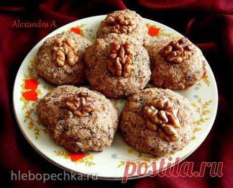 Норвежское орехово-шоколадное печенье Рецептом этого печенья поделилась подруга, которая живет в Норвегии и увлекается национальной кухней. Для меня это идеальное сочетание - орехи и шоколад, а манная крупа придает печенью необыкновенную текстуру, вы никогда не догадаетесь, что она там есть, и в тоже время печенье с помощью манки станов