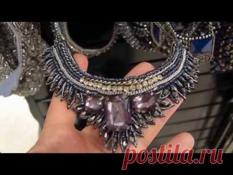 Jewelry and costume jewelry (chast2). Spain. - YouTube