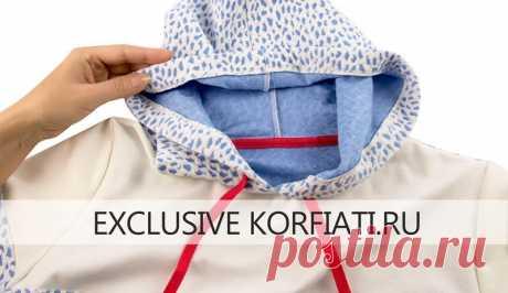 Готовая выкройка женского худи в пяти размерах от А. Корфиати