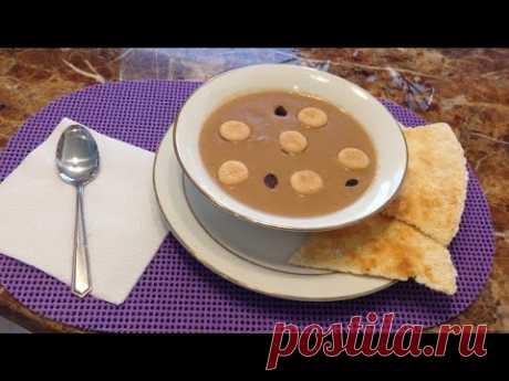 традиционный доминиканский десерт из фасоли... выглядит ужасно, съедается очень быстро