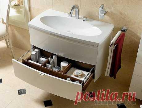 Раковины для ванной: огромное разнообразие и классификация