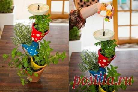 Подставка для цветов своими руками: изготовление. Как сделать подставки для цветов на подоконник? | LS