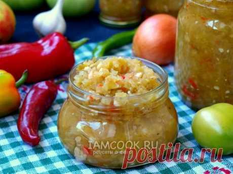 Аджика из зелёных помидоров — рецепт с фото пошагово. Как приготовить аджику из зелёных помидоров на зиму?