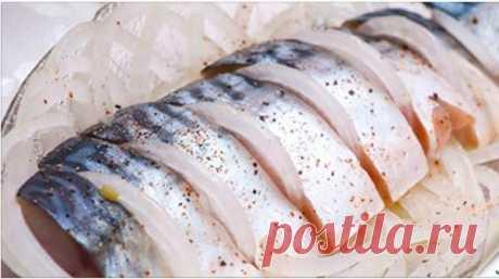 С этим рецептом вы забудете о покупной рыбке — скумбрия получается нежной и вкусной! - Советы и Рецепты Одним из любимых блюд русской кухни считается картошечка в мундирах под слабосоленую рыбку-скумбрию, которая придает всему блюду незабываемый вкус и аромат! Но, к сожалению, магазинная скумбрия не всегда бывает качественной и вкусной, поэтому мы подготовили 2 удивительно быстрых рецепта домашнего посола нежнейшей скумбрии, от которой вы и все ваши близкие придете в восторг! С этими …