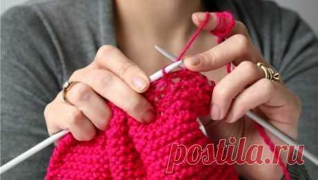 Как правильно подбирать толщину нитки к спицам?