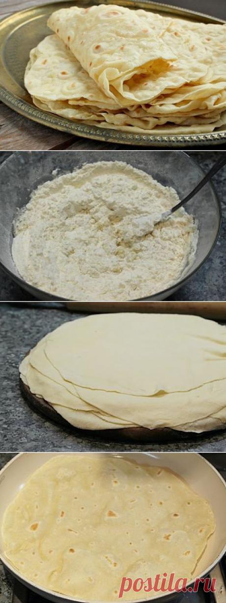 Лаваш на сковороде : мастер-класс   Четыре вкуса