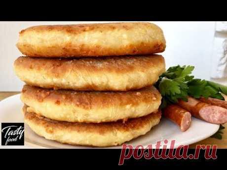 Сырные Лепешки На Кефире! Простое и Такое Вкусное Блюдо!