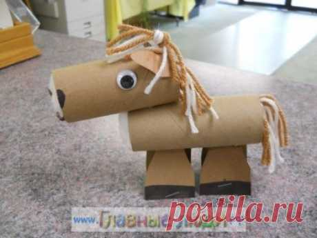 Los artículos del casquillo del papel higiénico más de 80 ideas y poshagovyh la foto
