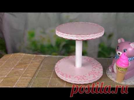 Подставка для торта и кексов / Stand for cake and capkake. ХоббиМаркет