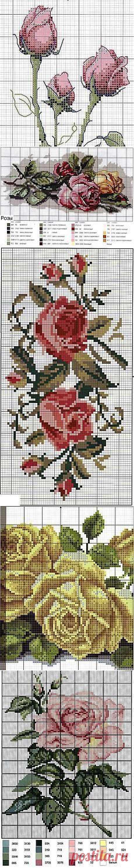 Схемы для вышивки крестиком бисером