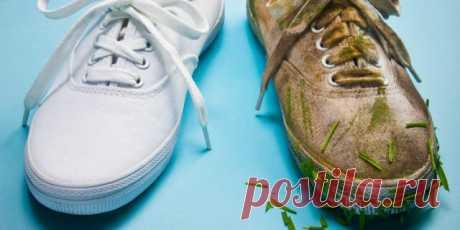 Как быстро отбелить белые кроссовки, кеды, грязную подошву от желтизны за 5 минут   Домсоветы   Яндекс Дзен