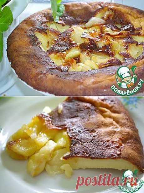 Немецкий яблочный блин - кулинарный рецепт