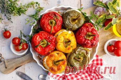 Мексиканские фаршированные перцы — Sloosh – кулинарные рецепты