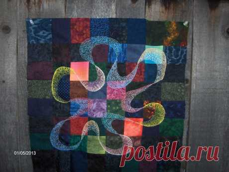 Practicing Ribbon Ilusions | A small wall quilt to try out L… | Flickr
