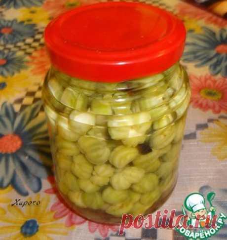 Консервирование семян настурции - кулинарный рецепт