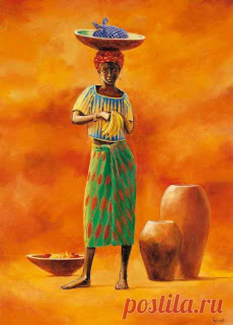 Картинки для декупажниц! Африканские мотивы.