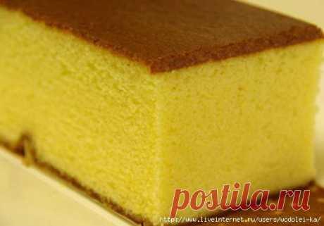 Идеальный бисквит для тортов.