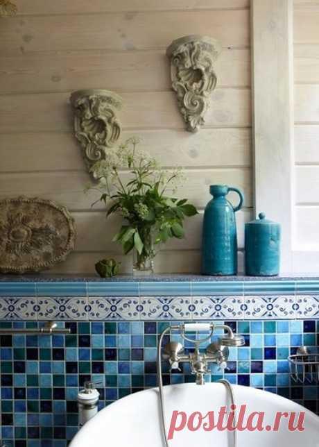 Укладка плитки в ванной: как сэкономить и оформить стены оригинально