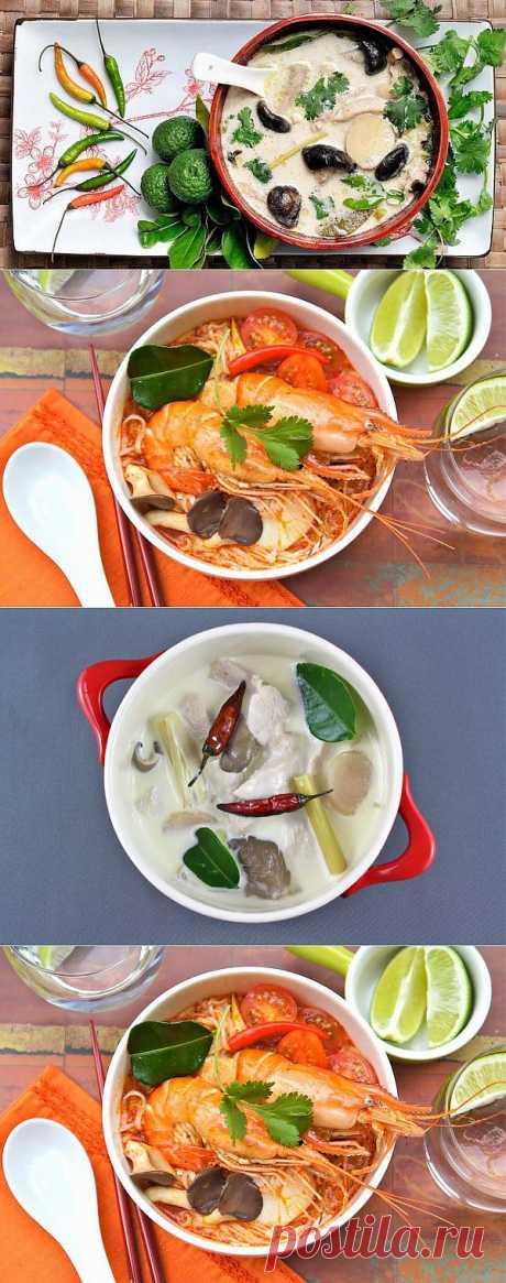 Знаменитые тайские супы: 2 свежих рецепта.