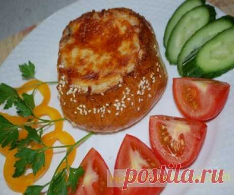 Жульен в булочке/Сайт с пошаговыми рецептами с фото для тех кто любит готовить
