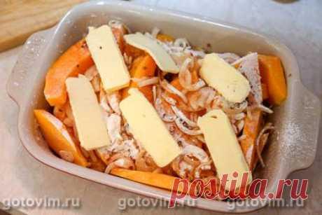 Тыква по-турецки, запеченная в духовке со сливочным маслом. Рецепт с фото / Готовим.РУ