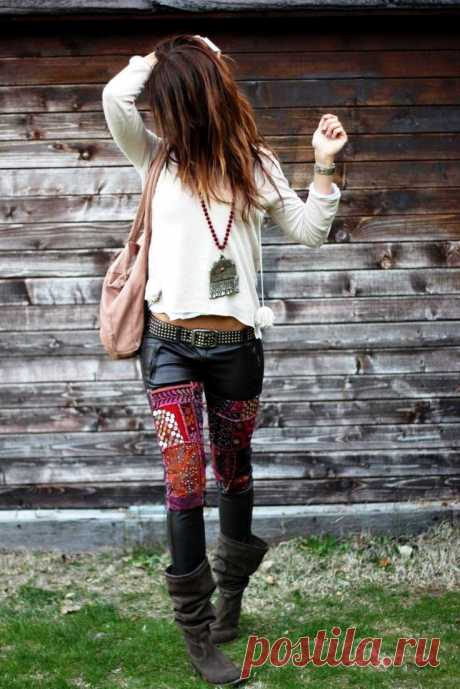 Style of hippie   Style of hippie in clothes