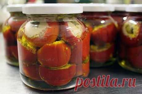 Закуска из острого перца и анчоусов - Овощи на зиму . 1001 ЕДА вкусные рецепты с фото!