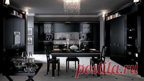 Черный цвет и мебель в интерьере | flqu.ru - квартирный вопрос. Блог о дизайне, ремонте