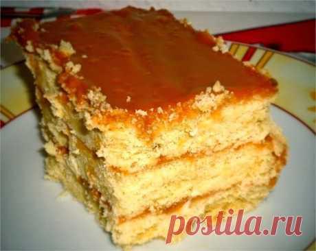 Лучшие кулинарные рецепты: Торт «Песочный»