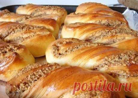 Ореховые булочки — Sloosh – кулинарные рецепты