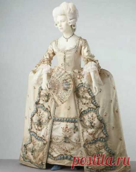 Панье – модные юбки-колокола XVII века