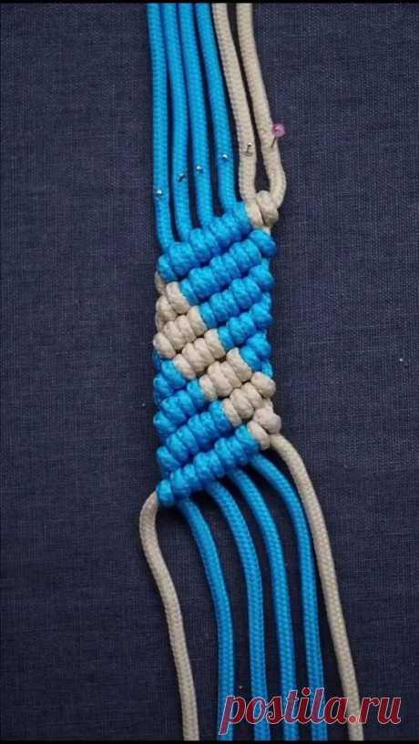 Hand Rope Weaving Tutorial 58