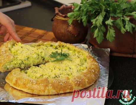 Пирог с капустой, яйцами и зеленью – кулинарный рецепт